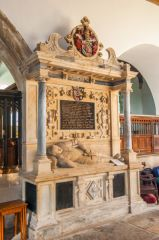 Somerton, St James Church, John Fermor tomb, 1625