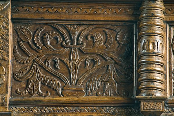 Somerton photo, Carved panel