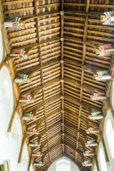 South Creake, St Mary's Church, Single hammerbeam angel roof