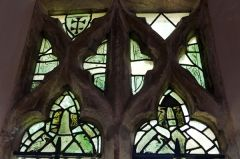 South Newington, St Peter ad Vincula Church, Medieval glass, north aisle