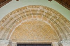 Norman south doorway and tympanum