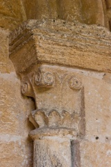 Norman capital, south door, Southrop