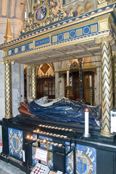 Southwark Cathedral photo, Bishop Andrewes tomb