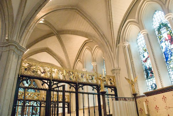 Southwark Cathedral photo, Retrochoir chapels
