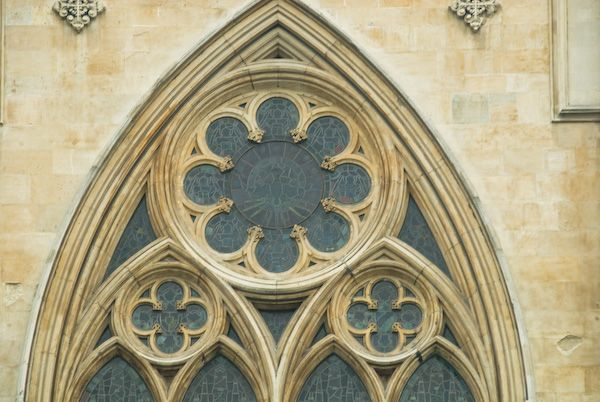 Southwark Cathedral photo, Gothic window
