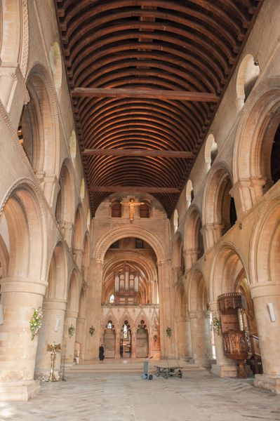 Southwell Minster photo, The Minster nave