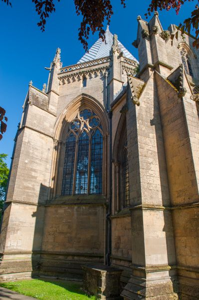 Southwell Minster photo, The chapter house exterior