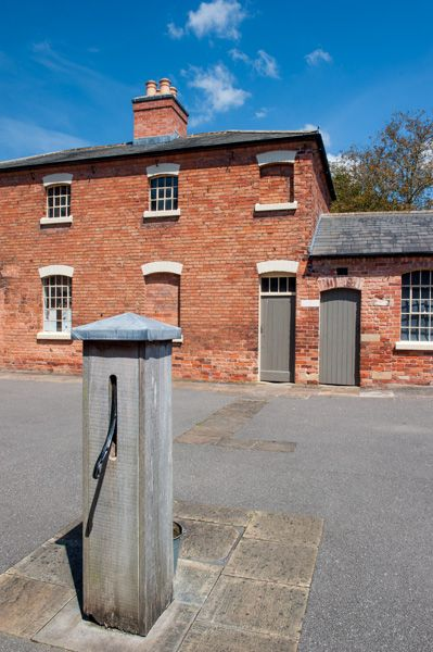 The Workhouse photo, Inner courtyard and pump