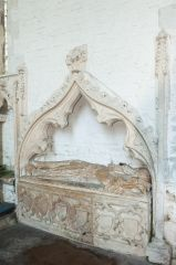 Founder's tomb in the chancel