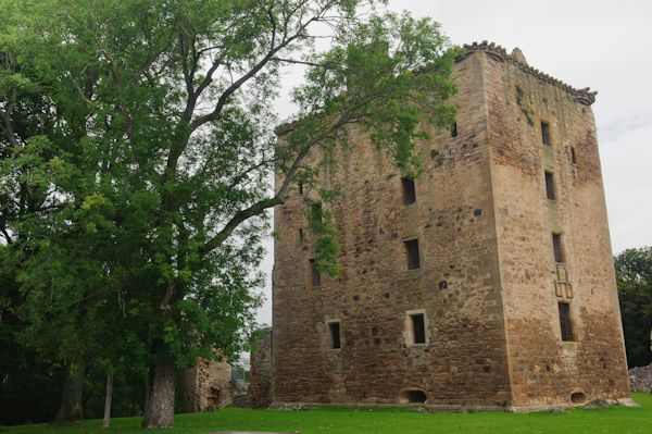 Spynie Palace photo, David's Tower