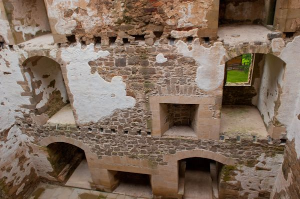 Spynie Palace photo, Inside David's Tower