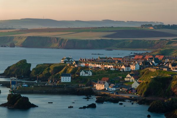 St Abbs photo, View over the harbour