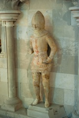 Medieval effigy of a knight