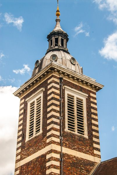 St Andrew-by-the-Wardrobe photo, The Christopher Wren tower