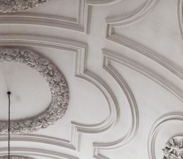 St Andrew-by-the-Wardrobe photo, Plasterwork ceiling restoration