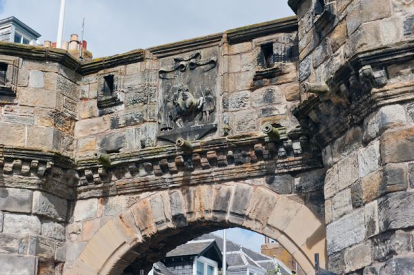 St Andrews, West Port photo, Medieval archway