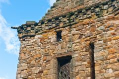 St Andrews Castle, Fore Tower battlements