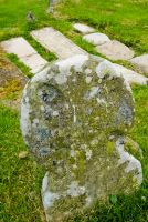Early medieval grave stone