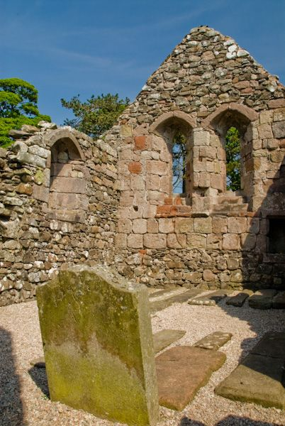 St Blane's Church photo, East windows