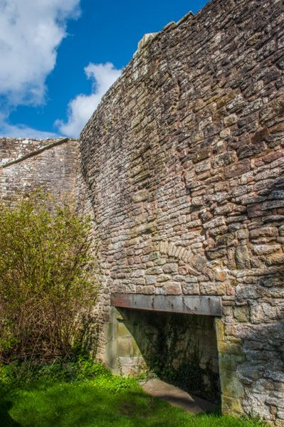 St Briavel's Castle photo, A fireplace built into the wall