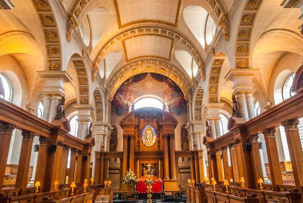 St Bride's Fleet Street, History & Photos | Historic ...