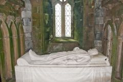 Walter Campbell tomb, St Conval's Chapel