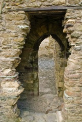 Ruined doorway arches