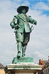Oliver Cromwell statue, St Ives