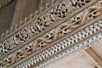 Rood screen carving detail