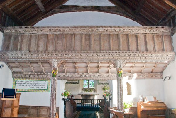 St Margaret's Church photo, Rood screen and loft