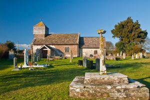 Churchyard and Cross
