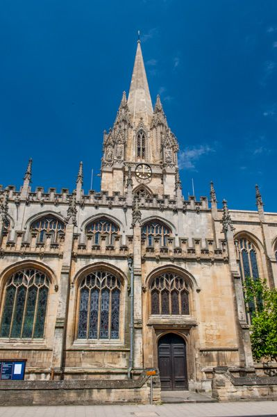 Oxford, University Church of St. Mary the Virgin photo, The High Street entrance