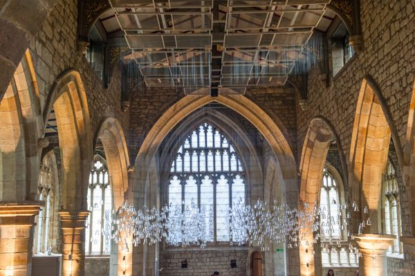 York St Mary's photo, Art installation in the nave