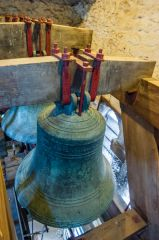 Oxford, St Michael at the North Gate Church, 17th century bells in the tower
