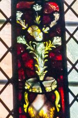 Oxford, St Michael at the North Gate Church, Christ as a lily flower, 15th century