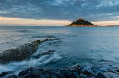 St Michael's Mount, Dawn comes to Mount's Bay