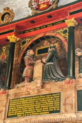 Sir James Deane memorial, 1608