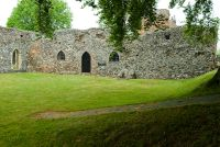 St Olave's Priory, Priory site