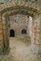St Olave's Priory, Brick doorway