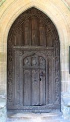 Harpley, The south door of St Lawrence church (c) Evelyn Simak