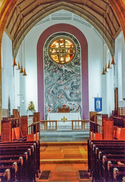 Newport, St Woolos Cathedral  photo, The east end and altar