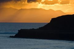 Sunrise at Staffin