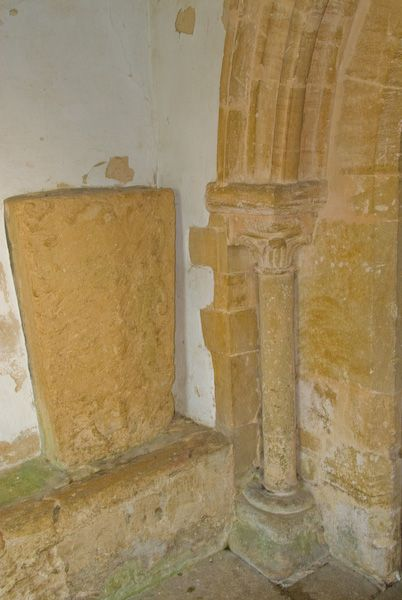 Stanford in the Vale, St Denys photo, Coffin lid