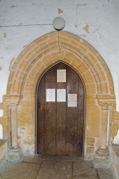 Stanford in the Vale, St Denys photo, South door