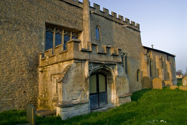 Stanford in the Vale photo, North porch, St Denys