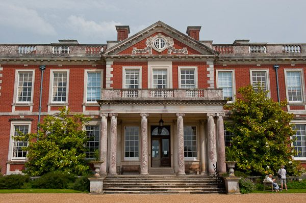 Stansted Park photo, House entrance