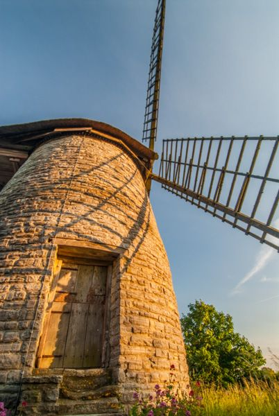 Stembridge Windmill photo, Another look at the entrance facade