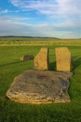 Stones of Stenness Circle and Henge, The central 'altar'