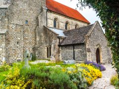 Steyning's beautiful medieval church