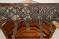 Stoke Dry, St Andrew's Church, Rood screen